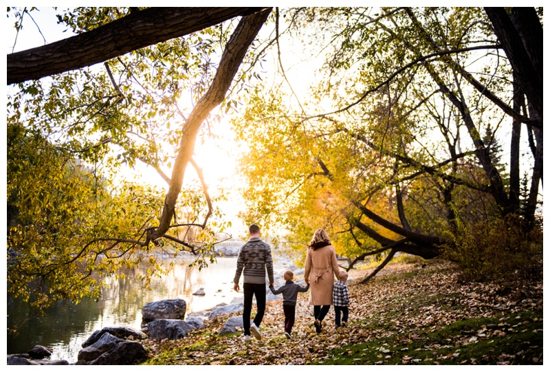 Prince's Island Park Fall Family Session