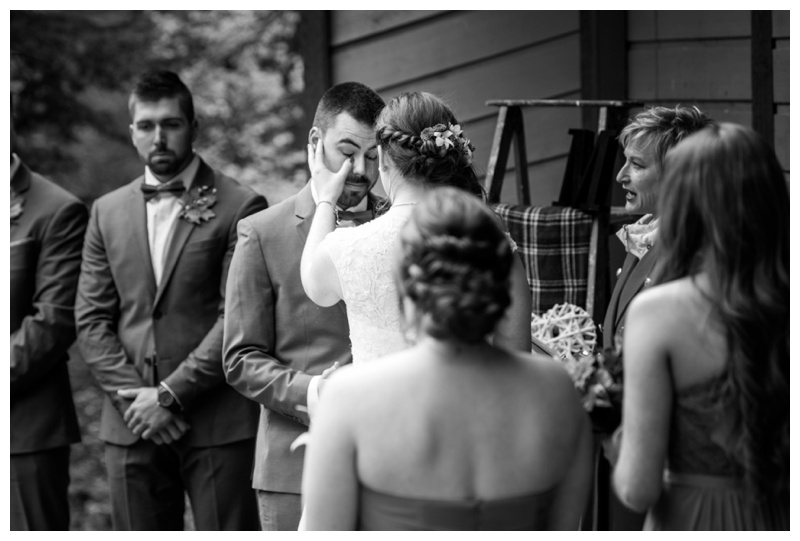 Canmore Alberta Wedding Ceremony