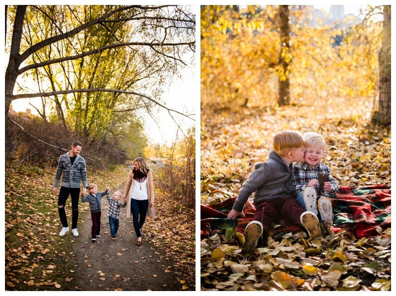 Fall Family Photography Calgary