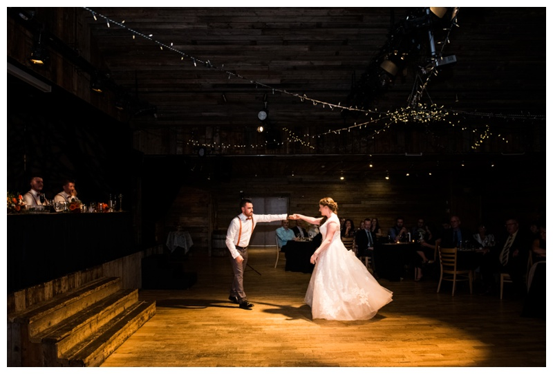 First Dance Wedding Photography - Cornerstone Wedding Canmore Alberta