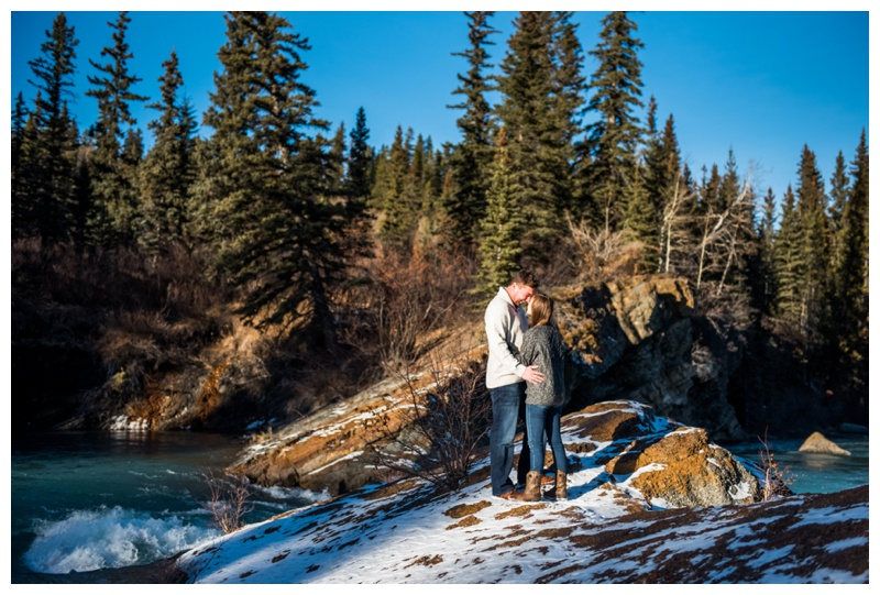 Kananaski Engagement Photos - The Widow Maker