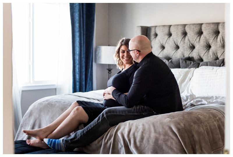 At Home Maternity Photography Calgary