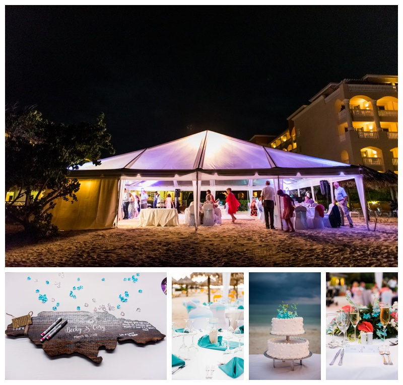 Beach Wedding Reception - Iberostar Rose Hall Jamaica