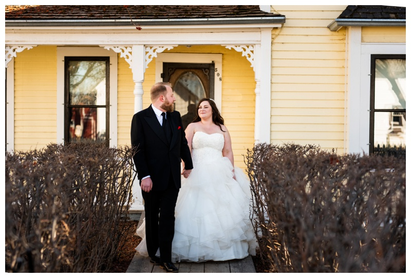 Calgary Alberta Heritage Park Wedding Photographer