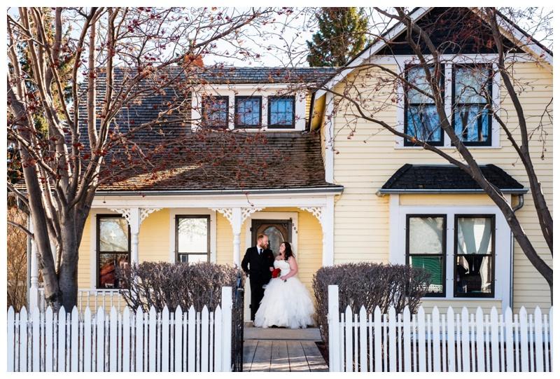 Calgary Alberta Heritage Park Wedding Photography
