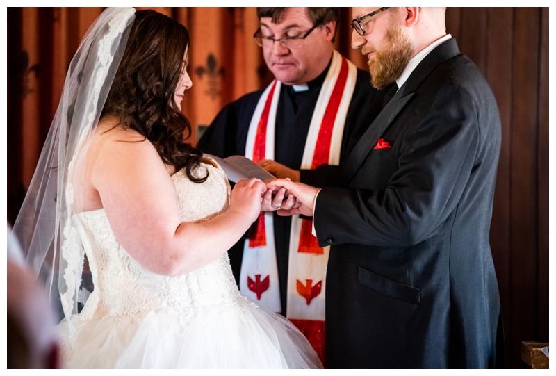 Calgary Heritage Park Wedding Ceremony