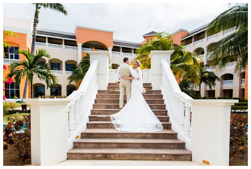 Destination Wedding Photographers - Jamaica Iberostar Selection Rose Hall Suites