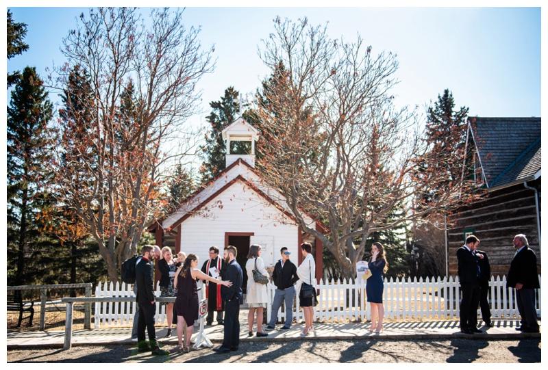 Heritage Park Calgary Alberta Wedding
