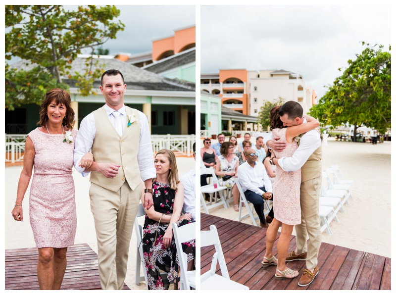 Jamaica Iberostar Destination Wedding Ceremony Photography