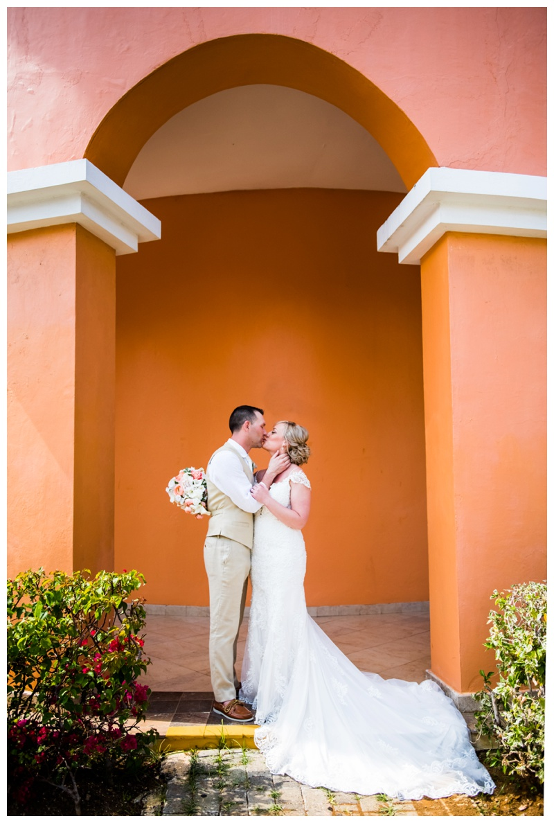 Jamaica Iberostar Rose Hall Suites Destination Wedding Photos