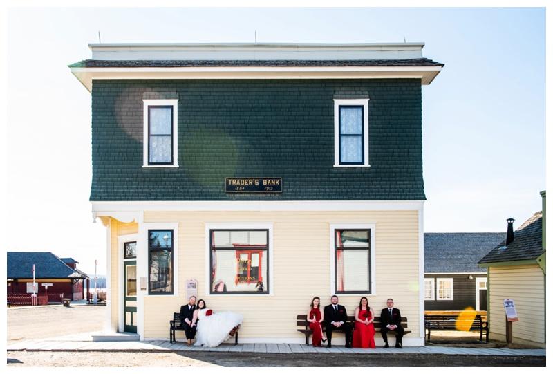 Wedding Party Photography - Heritage Park Calgary