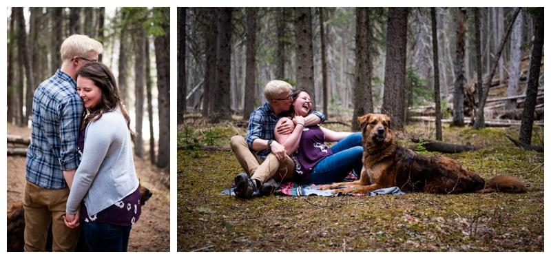 Bragg Creek Provincial Park Engagement Photography