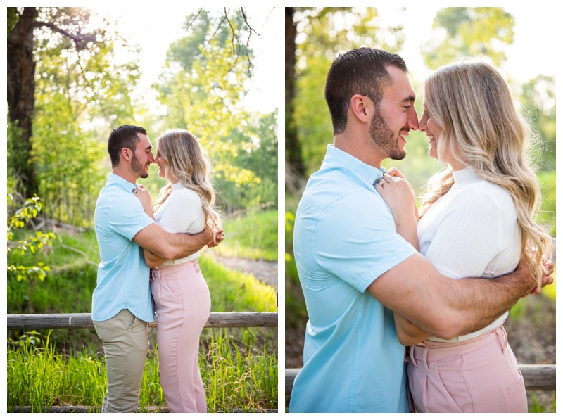 Calgary Pearce Estate Park Engagement Photographer
