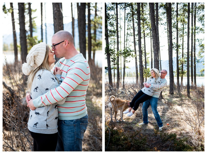 Dog Friendly Engagement Photographer Calgary