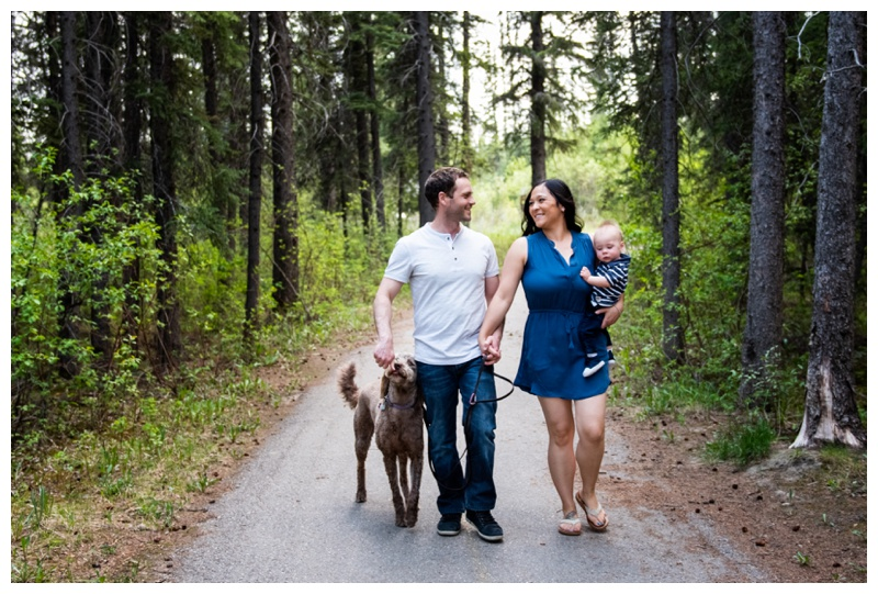 Family Photography Calgary Alberta - Griffith Woods