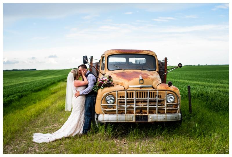 Alberta Barn Wedding Photography