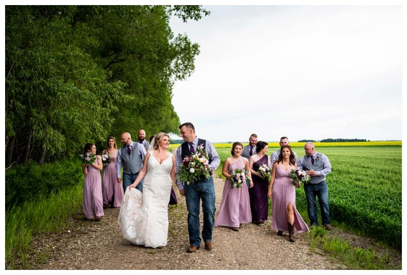 Alberta Barn Wedding Reception- Willow Lane Barn