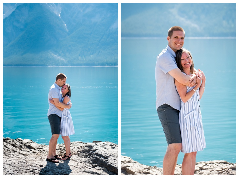 Lake Minniwanka Banff Family Photographer
