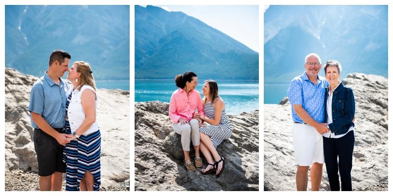 Lake Minniwanka Banff Family Photos