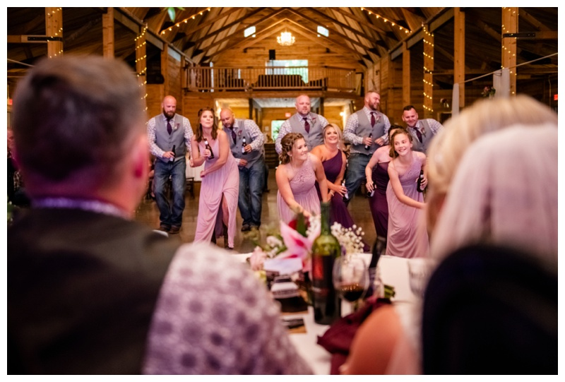 Olds Willow Lane Barn Wedding Reception
