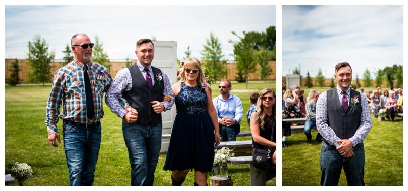 Willow Lane Barn Wedding Ceremony Photos