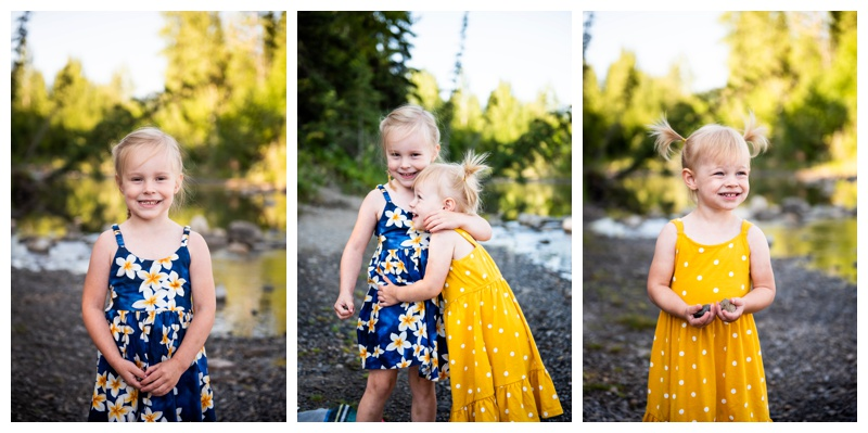 Bragg Creek Provincial Park Family Photography
