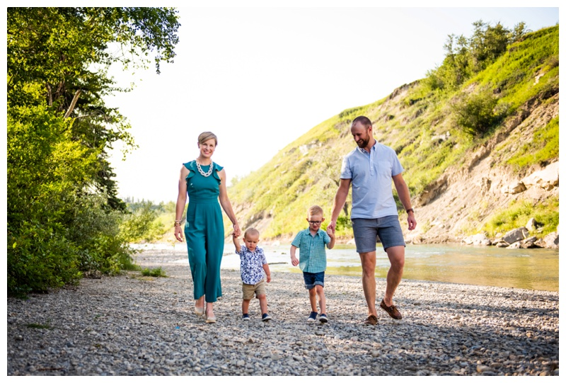 Calgary Sandy Beach Park Family Session
