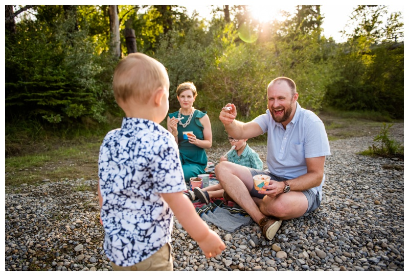 Sandy Beach Park Calgary Family Session - Calgary Family Photographer