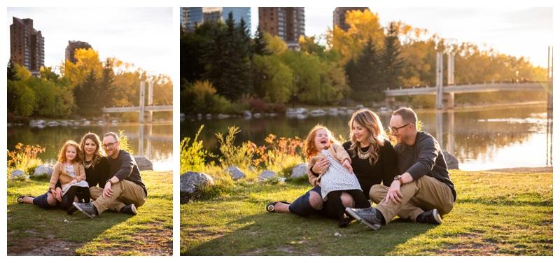 Calgary Prince's Island Park Family Photographers