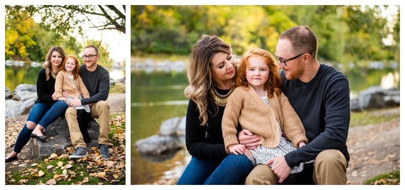 Calgary Prince's Island Park Family Photos