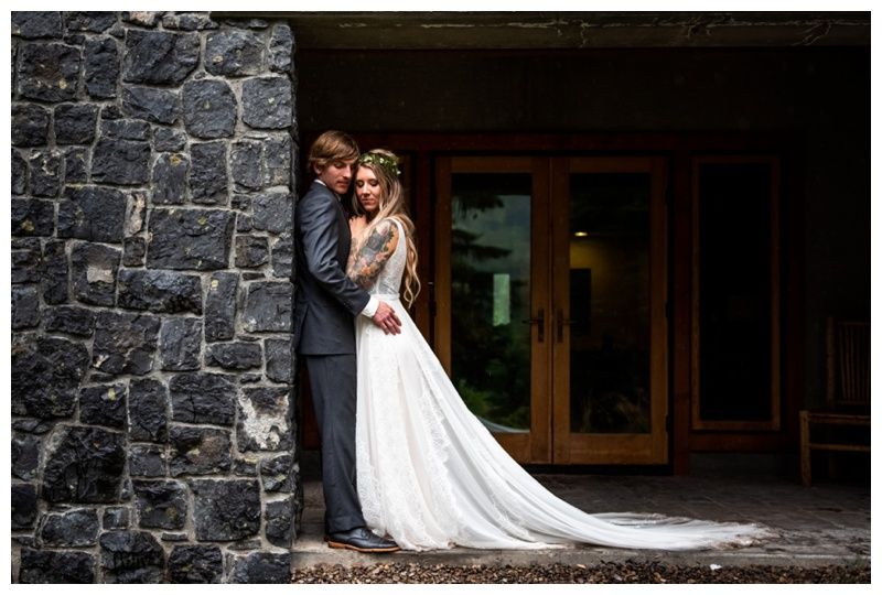 Fernie Island Lake Lodge Wedding - Bride & Groom Photos