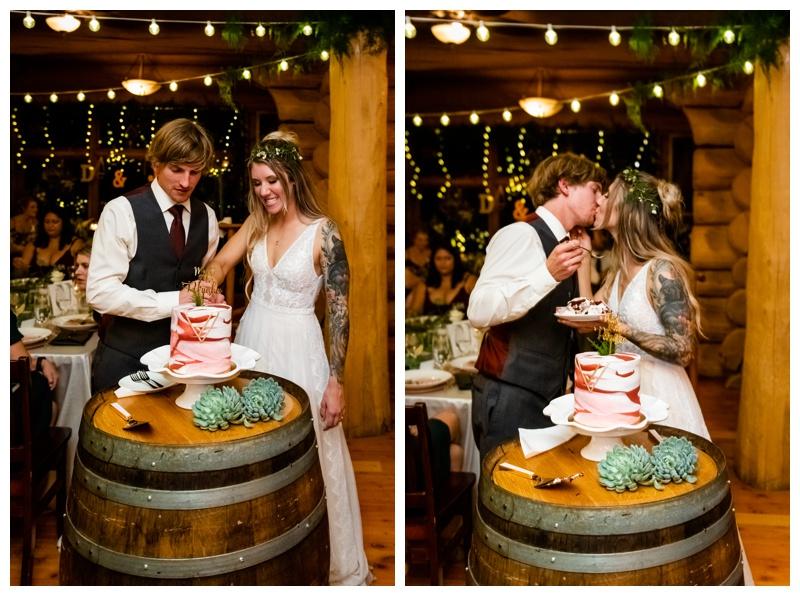 Fernie Island Lake Lodge Wedding Reception Phootgrapher