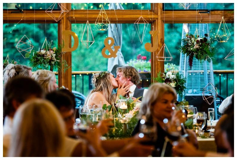 Fernie Island Lake Lodge Wedding Reception Photography