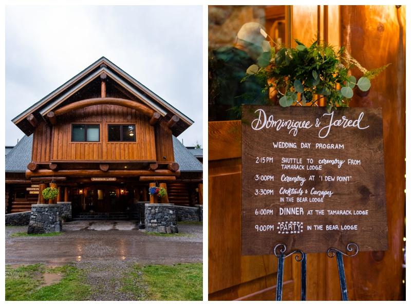 Fernie Island Lake Lodge Wedding - Wedding Reception