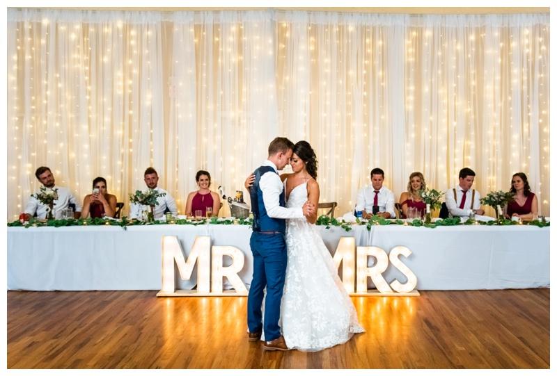 First Dance Wedding Photos Calgary
