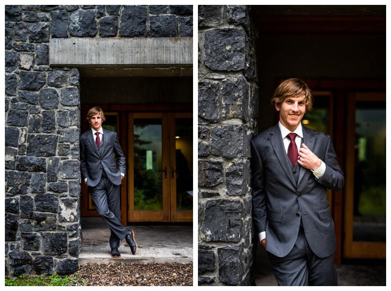 Island Lake Lodge Wedding Fernie - Bride & Groom Photographers