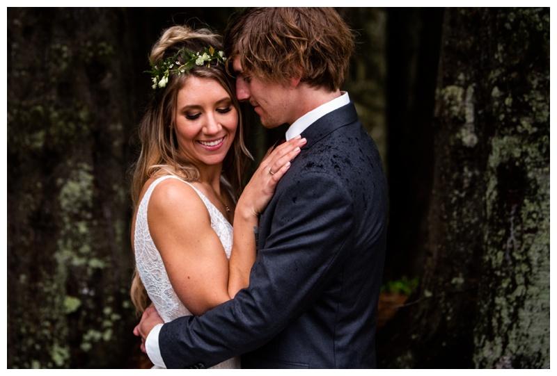 Island Lake Lodge Wedding Fernie - Bride & Groom Photos