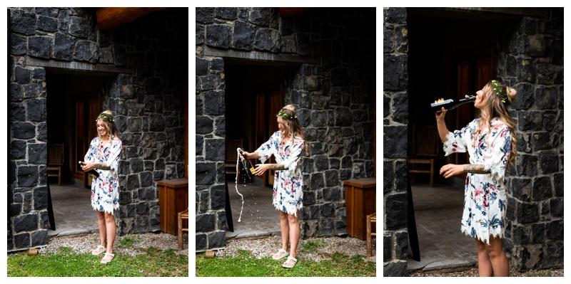 Island Lake Lodge Wedding Fernie Photos