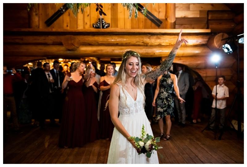 Island Lake Lodge Wedding Reception Photographers