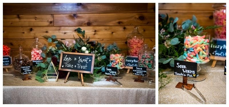 Island Lake Lodge Wedding Reception Photos