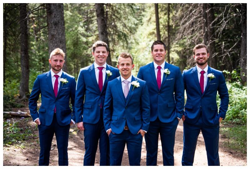 Wedding Party Photo - Calgary Wedding Photographer