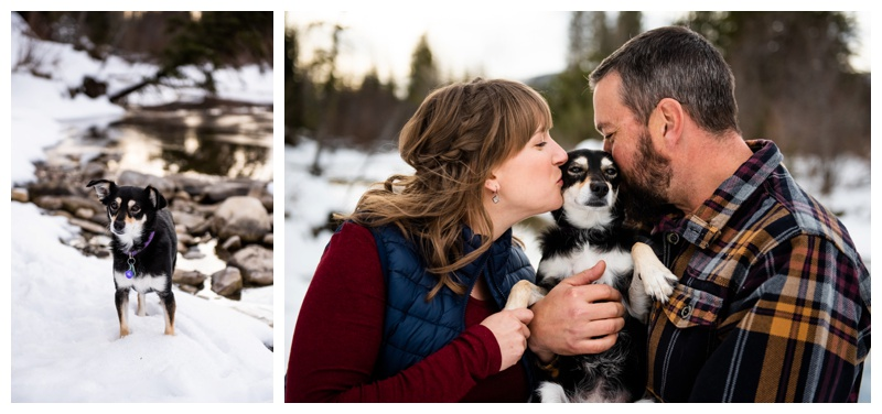 Kananaskis Winter Maternity Session