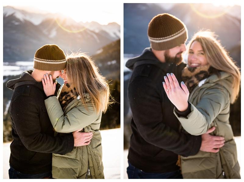 Banff Wedding Proposal