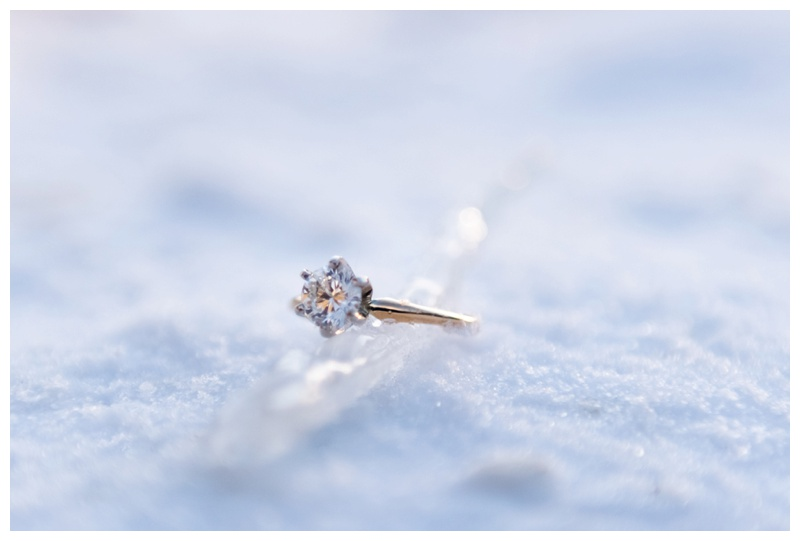 Banff Winter Engagement Photographers
