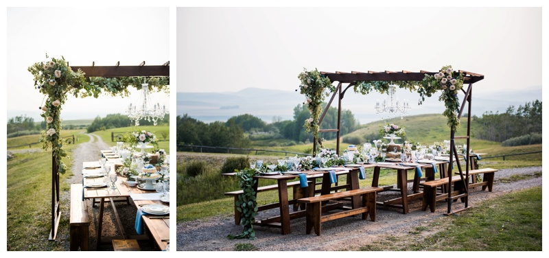 Rustic Opulence Country Wedding Inspiration Calgary