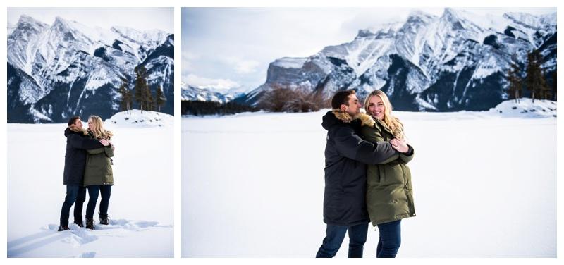 Banff Alberta Proposal Photographer