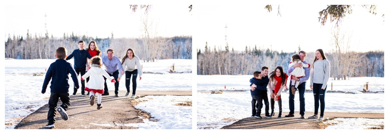 Calgary Winter Family Photographers
