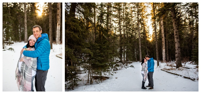 Calgary Winter Maternity Photography Session