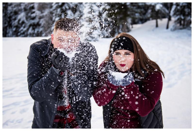 Couple Photos Banff Alberta