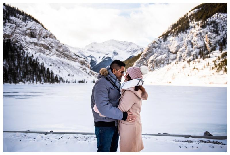 Kananaskis Winter Couple Photography Session